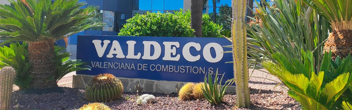 Logotipo Valdeco